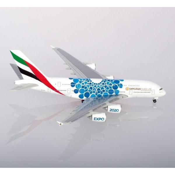 "533713 - Herpa - Emirates Airbus A380 ""Expo 2020 Dubai / Mobility"""