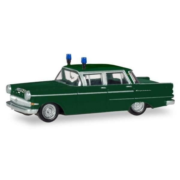 """093835 - Herpa - Opel Kapitän Streifenwagen """"Polizei"""""""
