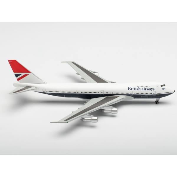 """534857 - Herpa Wings - British Airways Boeing 747-100 """"747 Farewell"""""""