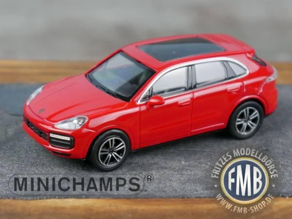 067202 - Minichamps - Porsche Cayenne Turbo (2017), rot