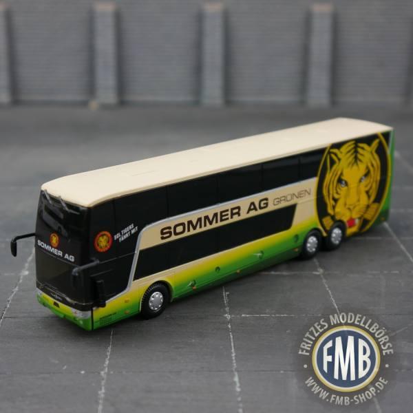 """8-1187 - Holland Oto - Van Hool TDX27 Astromega Doppelstock-Reisebus """"Sommer AG"""" CH"""