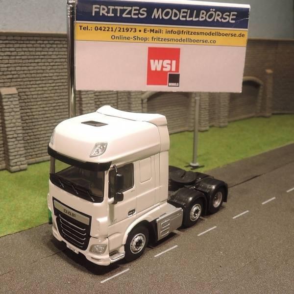 03-1138 - WSI - DAF XF SSC 6x2 3achs Zugmaschine - white line -