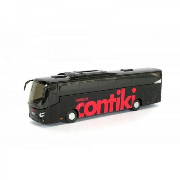 """8-1146a - Holland Oto - VDL Futura Reisebus """"Contiki / schwarz-rot"""""""