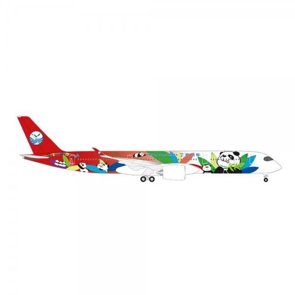 "531474 - Herpa - Sichuan Airlines Airbus A350-900 ""Panda-Design"" - 1:500"