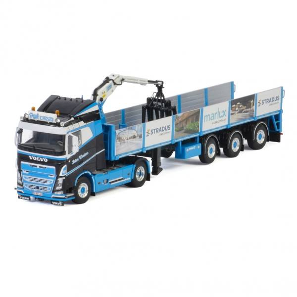 01-3191 - WSI - Volvo FH4 mit Schlafkabine 4x2 und 3achs Steinauflieger-PWT Cargo/Peter Wouters-B-