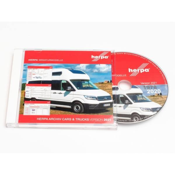 196246 - Herpa - Modellarchiv Cars & Trucks 1978-2020 DVD