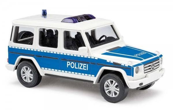 """51461 - Busch - Mercedes-Benz G-Klasse `08 Funkstreifenwagen """"Polizei Brandenburg"""""""
