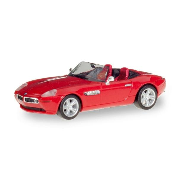 022897 002 Herpa Bmw Z8 Mit Uberrollbugel Rot