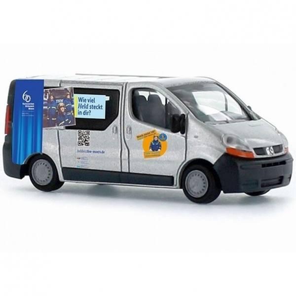 51382 - Rietze - Renault Traffic Bus -THW Moers Werbung-
