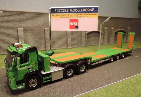 02-1354 - WSI - Volvo FM GL Nooteboom Tieflader -Christen- (CH)
