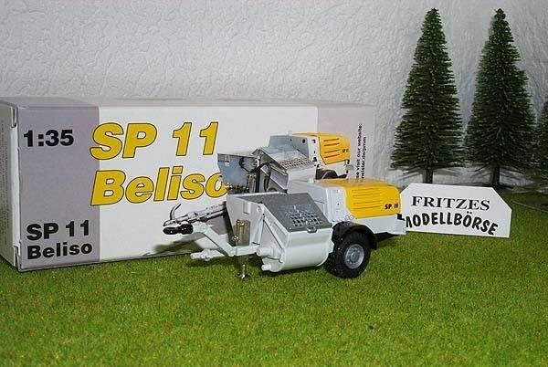 2507/0 - Conrad - Hubmischer SP11 Anhänger - 1:35 -