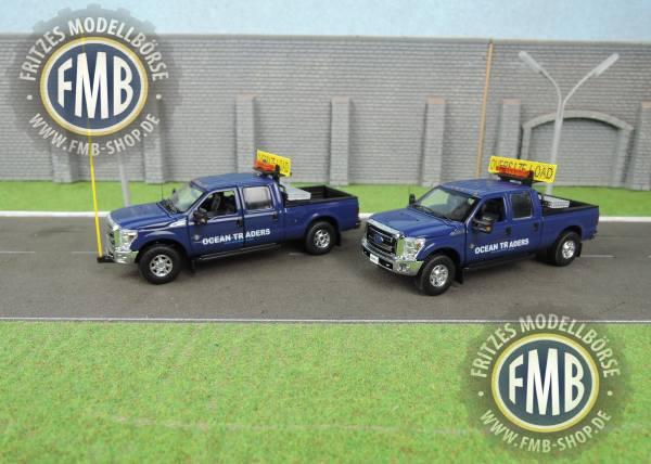 """SW1300-OT - Sword - Ford F250 Pick Up Trucks - Begleitfahrzeuge """"Ocean Traders"""""""