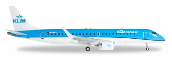 557580 - Herpa - KLM Cityhopper  Embraer ERJ-190 - 1:200