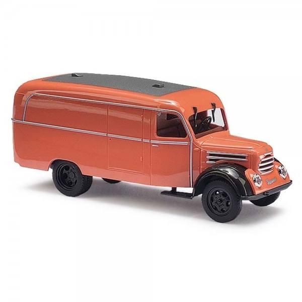 51800 - Busch - Robur Garant K 30 Kastenwagen (Baujahr 1956), orange - DDR