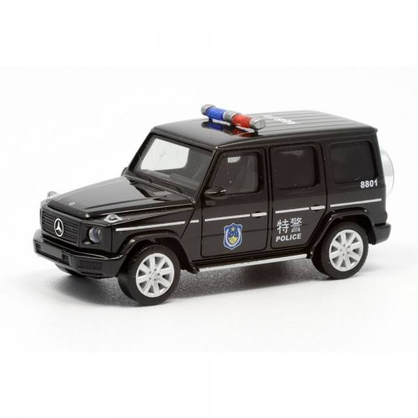 "940467 - Herpa - Mercedes-Benz G-Klasse ""SWAT / Police"" China"