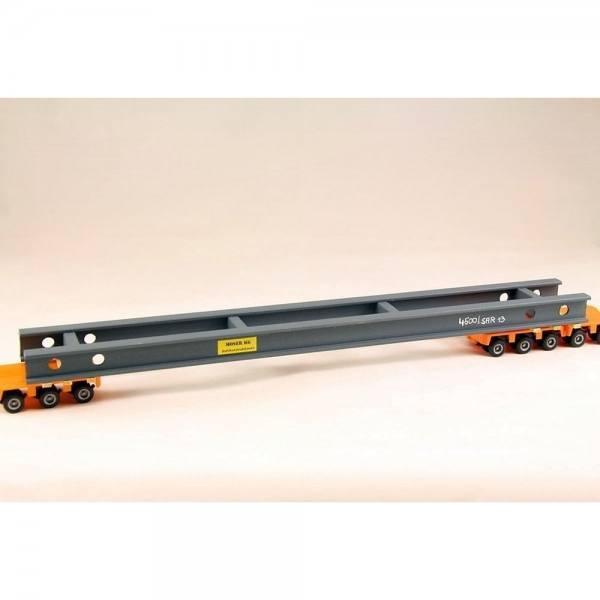 LKW1055r - Bauer - Stahlbauelement, überlang, rot - 320 x 40mm