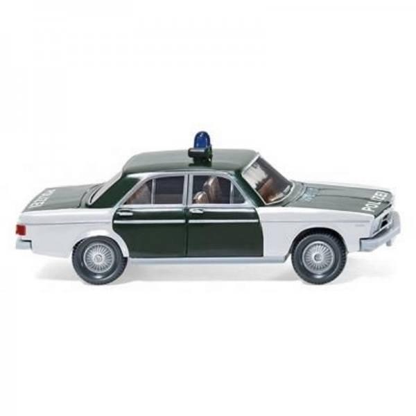 "086432 - Wiking - Audi 100 Limousine `1968-76 Funkstreifenwagen ""Polizei"""