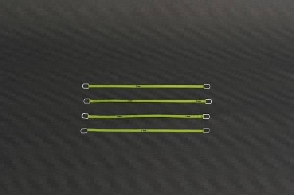 YC332-5 - YCC - Anschlaggurte, grün -12cm- 2 Tonnen Version -4 Stück