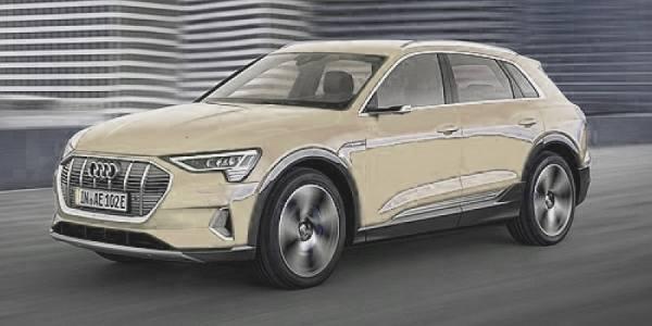 018221 - Minichamps - Audi E-Tron E-Mobility, beige