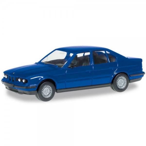 012201-006 - Herpa - MiniKit BMW 5er Limousine (E34), ultramarinblau