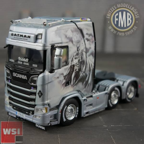 "01-2755 - WSI - Scania CS Highline 6x2 3achs Zugmaschine ""Daniel Garcia Moreno / Batman"" E"