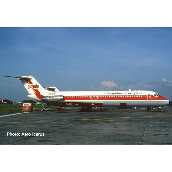 "570695 - Herpa - Garuda Indonesia McDonnell Douglas DC-9-30 ""Bengawan Solo"""