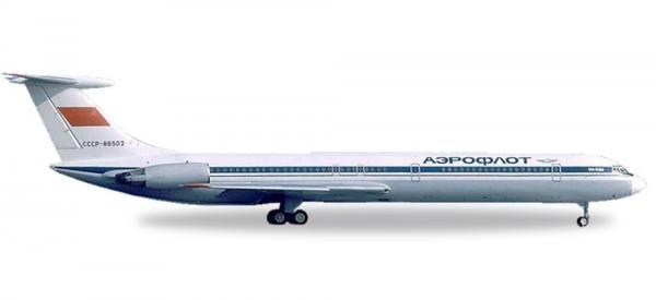 530842 - Herpa - Aeroflot  Ilyushin IL-62M  - 1:500