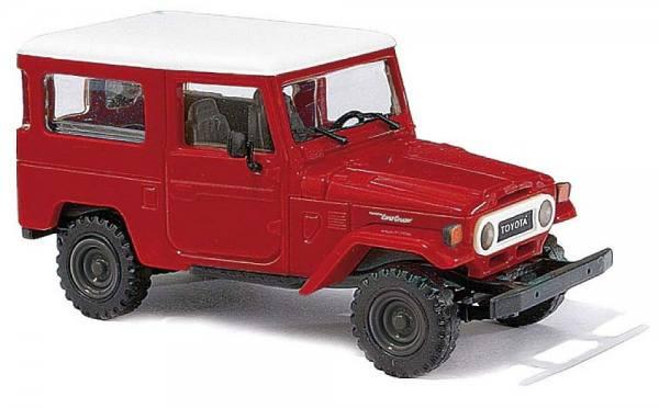 43032 - Busch - Toyota Land Cruiser J4 - rot/weiß