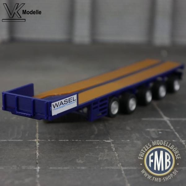02482 - VK Modelle - Ballastauflieger 4achs - ES-GE - Wasel