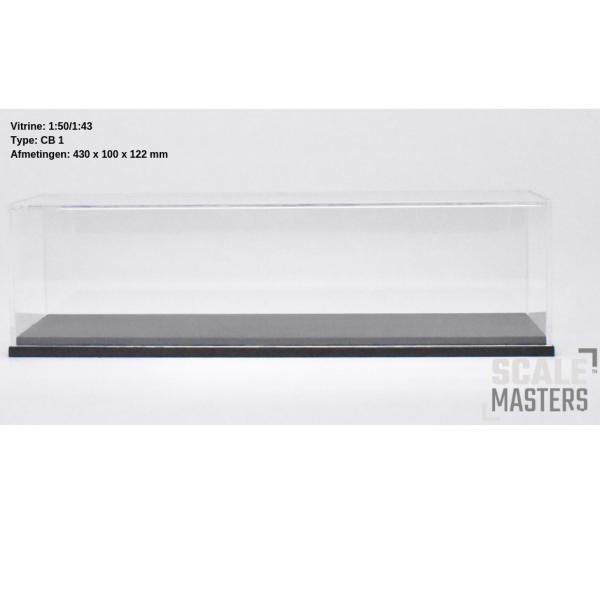 ScaleMasters - Vitrine für LKW Modelle im Maßstab 1/50 ( 430x100x122mm)