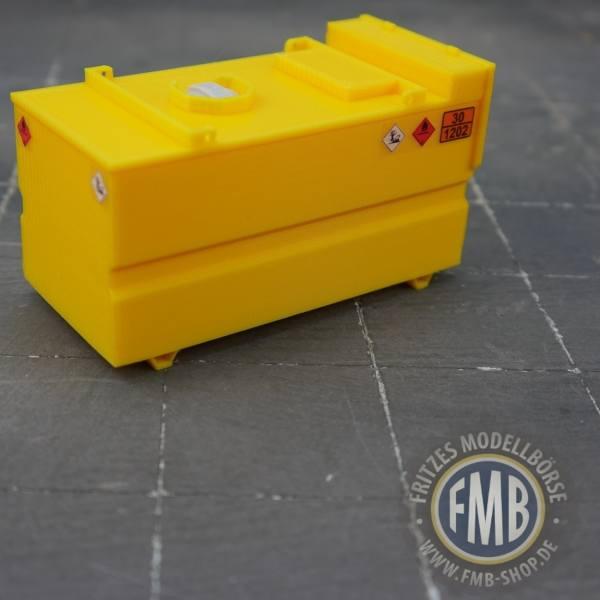 5436-08-001 - MSM - Baustellentank 8.000 Liter - gelb -