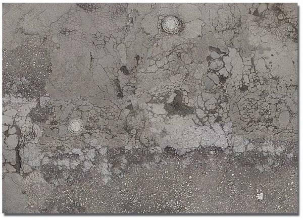 7416 - Busch - Dekoplatten - 2 Stück - verwitterter Asphaltboden - 210 x 148mm