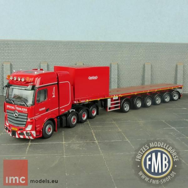 5274995 - IMC - MB Actros GiSp SLT 8x4 - Nooteboom 6achs Ballastauflieger -KNT-