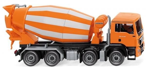 068148 - Wiking - MAN TGS Euro6 8x4 Liebherr Fahrmischer - orange