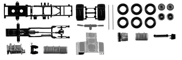 084567 - Herpa - TS Fahrgestell Zugmaschine DAF XF Euro6 - 2 Stück