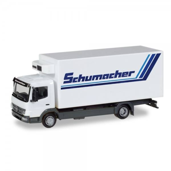 """308540 - Herpa - Mercedes-Benz Atego `10 Kühlkoffer-LKW """"Schumacher"""""""