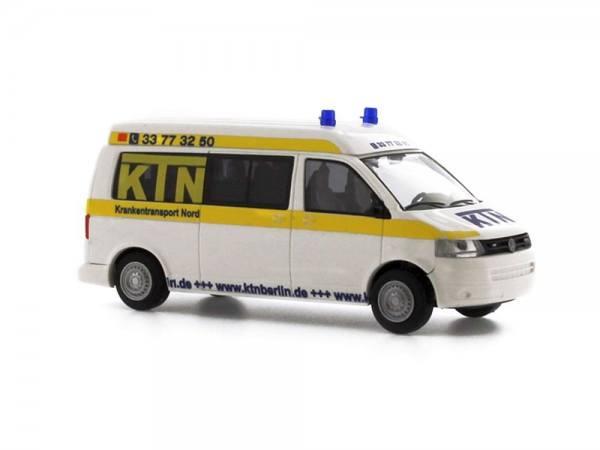 "53612 - Rietze - VW T5 GP LR mittelhohes Dach ""KTN Krankentransporte Nord UG, Berlin"""