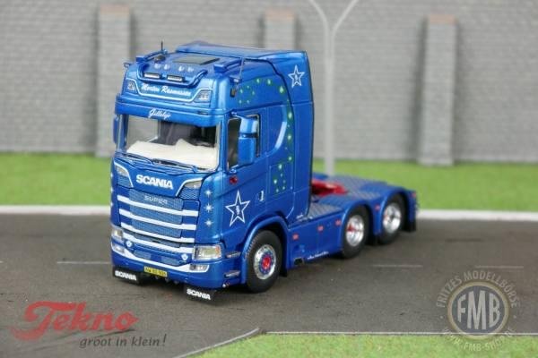 72530 - Tekno - Scania S 6x2 3achs Zugmaschine - Benny Rasmussen - DK -