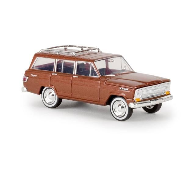19854 - Brekina - Jeep Wagoneer (Baujahr 1966-1970), kupfer metallic