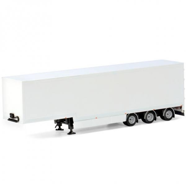03-1145 - WSI - 3achs Semi Koffer Auflieger - white line -