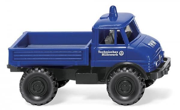 """069329 - Wiking - Mercedes-Benz Unimog U 406 """"THW"""""""