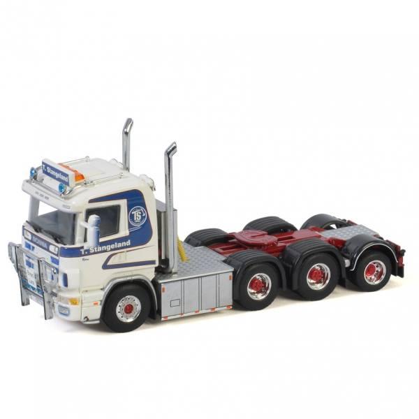 01-3241 - WSI - Scania 164 V8 6x4 3achs Zugmaschine + Zusatzachse - Stangeland - N -