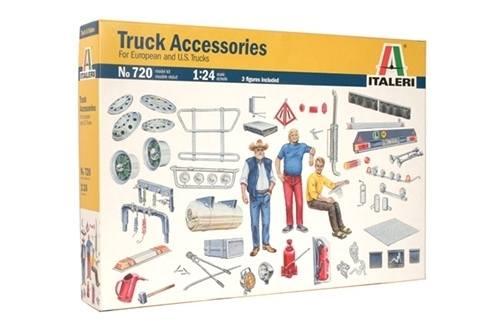 720 - Italeri - Zubehör für LKW, Michelinmännchen, Fahrerfiguren, Decals - 90er