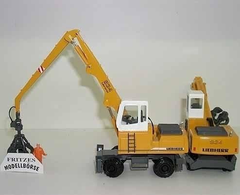 2832/01 - Conrad - Liebherr A 934 Mobilbagger Materialumschlag