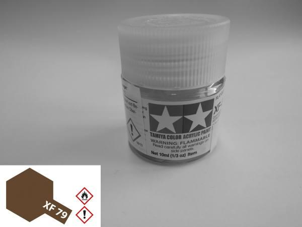 81779 - Tamiya - Acrylfarbe 10ml, linoleum Deck braun matt XF-79