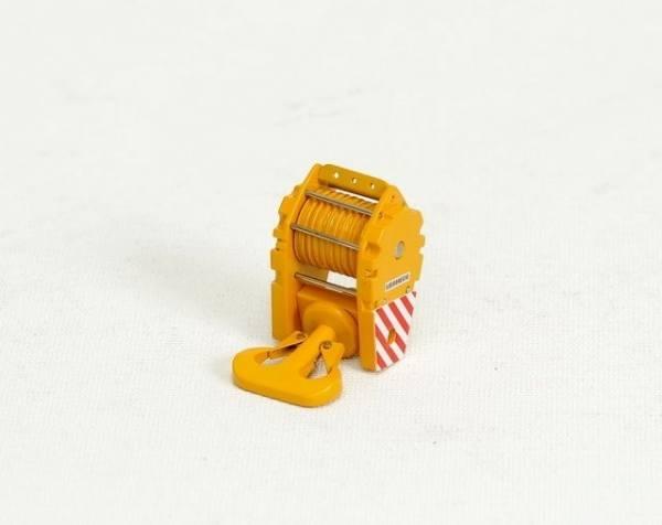 YC204-2 - Kranhaken 235t -gelb - 9 Umlenkrollen-