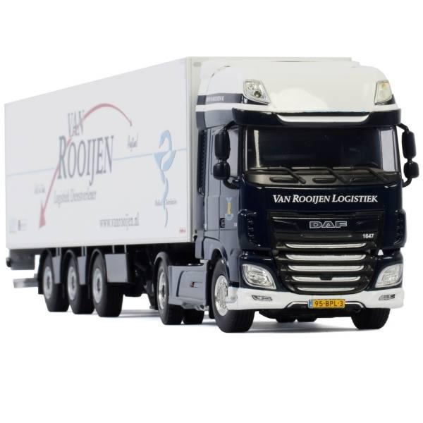 01-3160 - WSI - DAF XF SSC 4x2 mit 3achs Kühlauflieger/Tridec - van Rooijen Logistiek - NL -