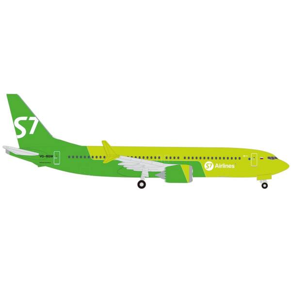 534260 - Herpa - S7 Airlines Boeing 737 Max 8 - VQ-BGW -