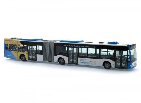 """73651 - Rietze - MB Citaro G `15 Gelenk-Stadtbus, 3türig """"150 Jahre Stadtwerke Wilhelmshaven"""""""