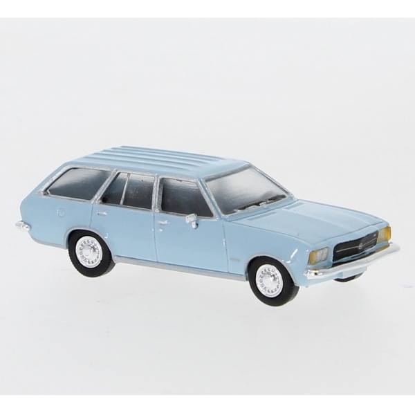 870021  pcx87  opel rekord d caravan 1972 hellblau